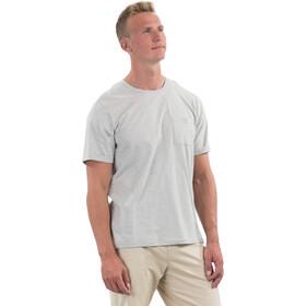 Bergans Oslo Re-Cotton Short Sleeve Shirt Men, grijs